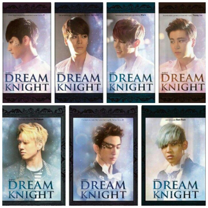Got7 Terlihat Menawan Di Poster Karakter Untuk Dream Knight Dream Knight Dream Knight Got7 Drama Tv Shows