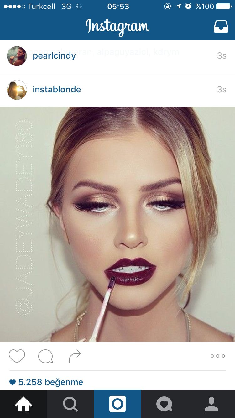 Bordo Makyaj My Wall Makeup Gorgeous Makeup Eye Makeup