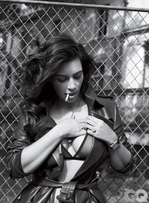 Kim Kardashian in GQ Magazine, June 2016