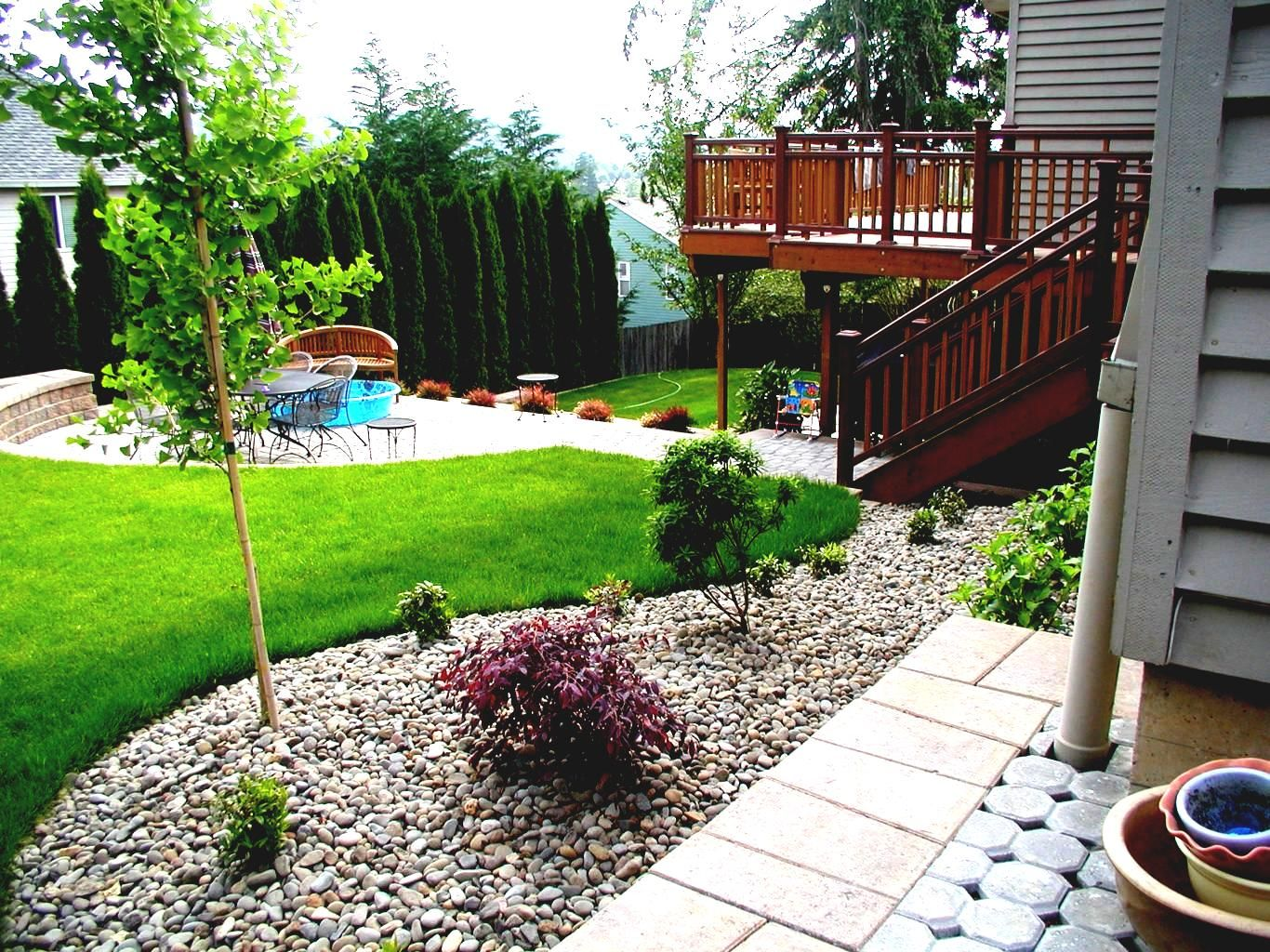 AuBergewohnlich Hinterhof Ideen Auf Einem Budget Ihre #Gartendeko