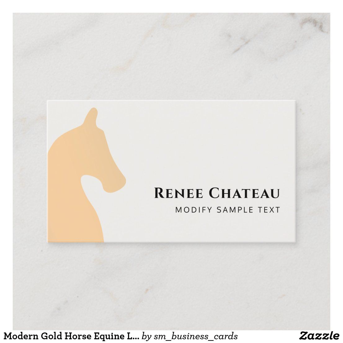 Elegant Horse Head White Business Card Zazzle Com In 2021 White Business Card Elegant Horse Branding Mood Board