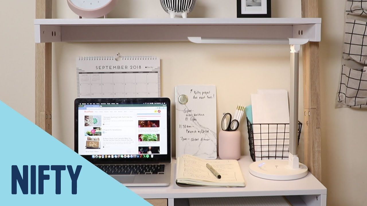4711392472bb How To Create A Home Office In A Small Space - YouTube Clear Chairs