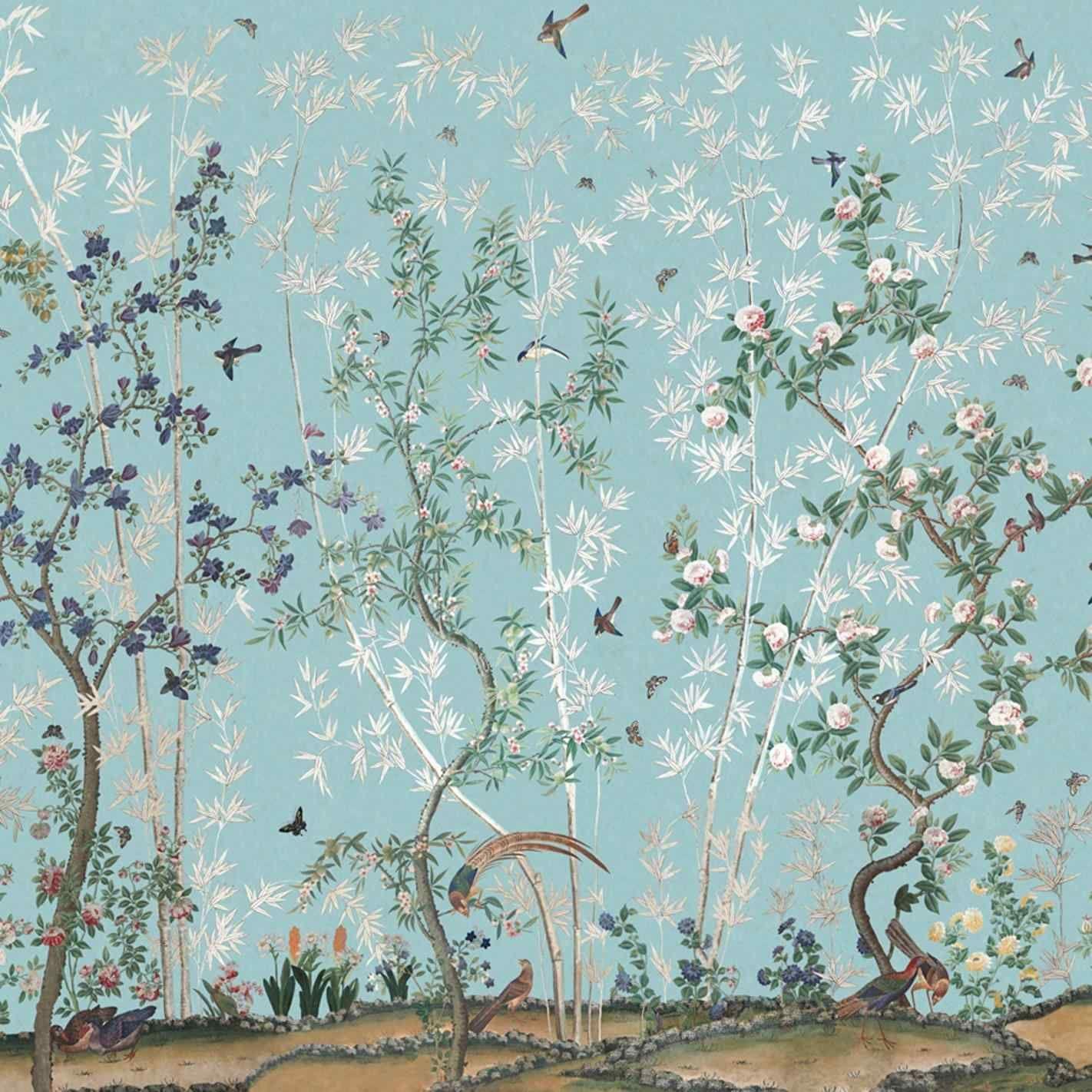 Image Result For Schumacher Wallpaper Blue Birds