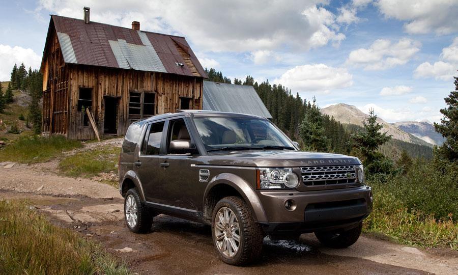 2011 Land Rover LR4 HSE, an Autoweek Drivers Log Car