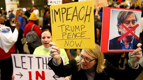 For high crimes and misdemeanors: Dem Congressman submits resolution to impeach Trump