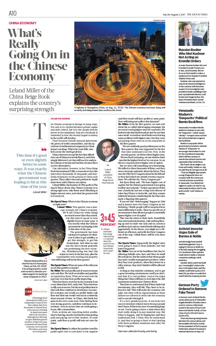 What S Really Going On In The Chinese Economy The Epoch Times China Economy Newspaper Editorialdesign Epoch Newspaper Economy
