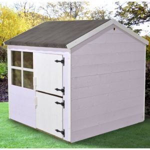 Forest 4ft x 4ft (1.26m x 1.3m) Plum Playhouse