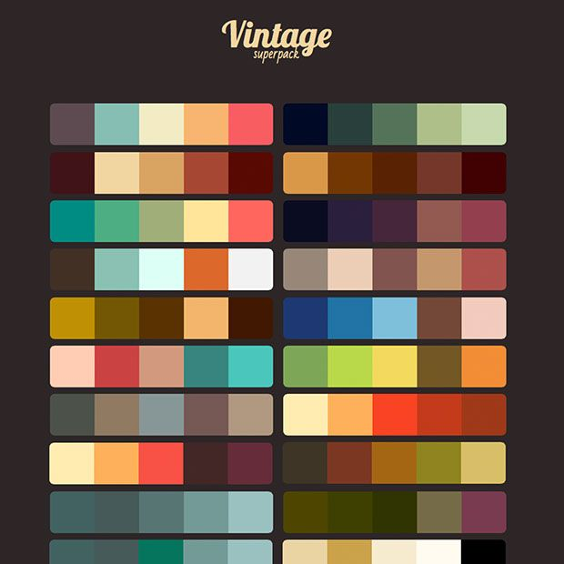 MUSE RESOURCES™ | Vintage Superpack | Modern Vintage Graphic