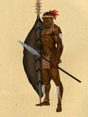 Image result for black african warrior animated | African ...