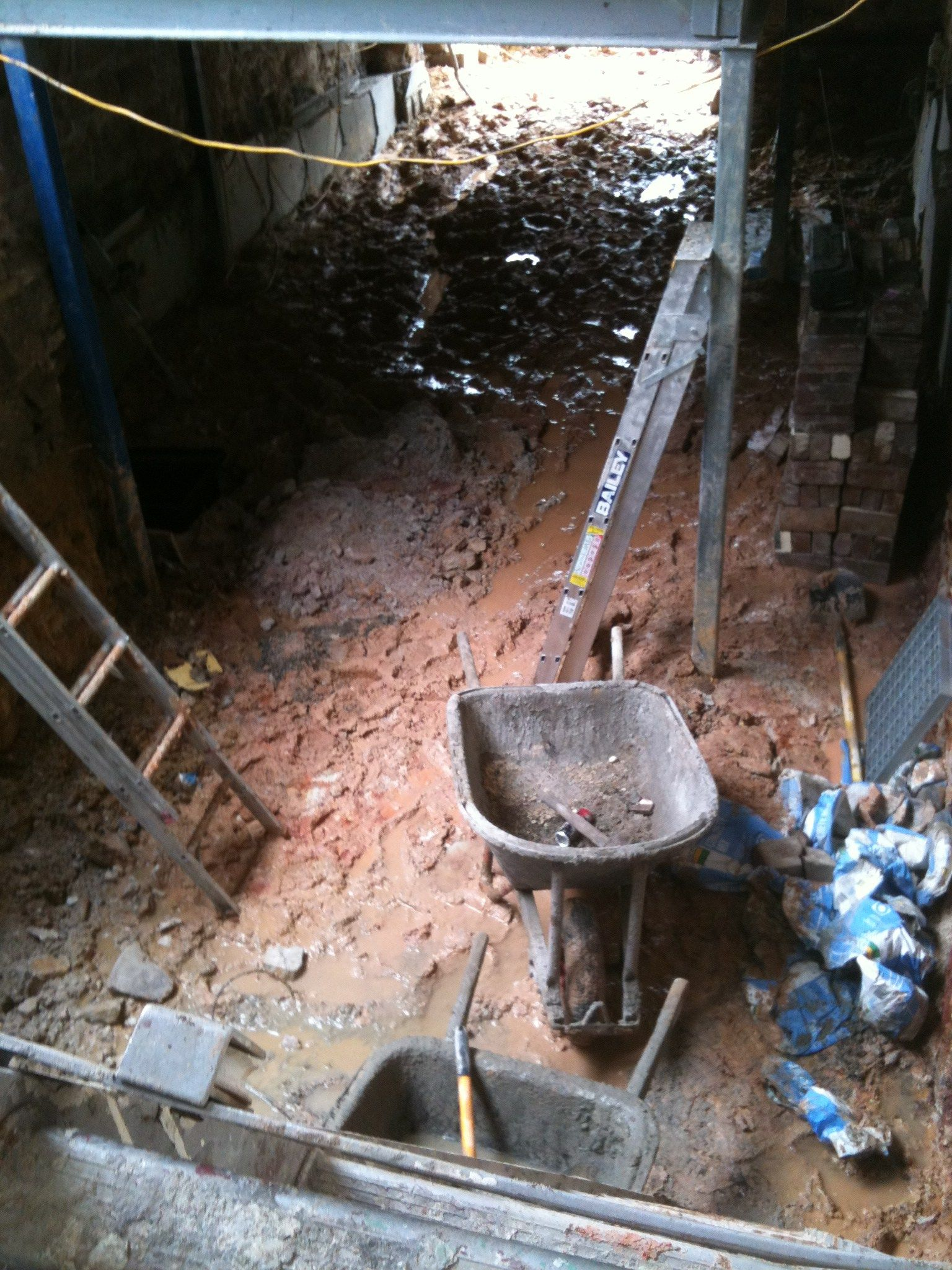Digging Out Basement Part - 27: Increasing Head Height By Digging Out Basement