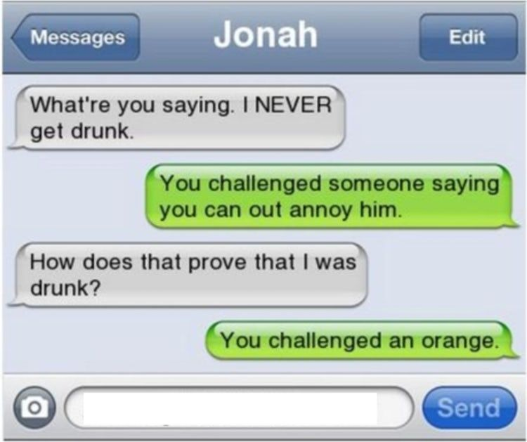Latest Funny Texts  Funny Morning After Texts | Text Messages About Being Drunk 6