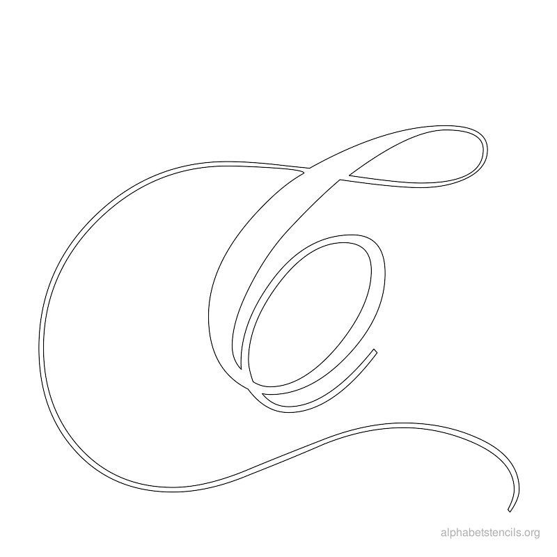 Fancy calligraphy letter c imgkid the image