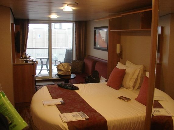 Celebrity Silhouette Cabin 6279 - Category 2C - Deluxe ...