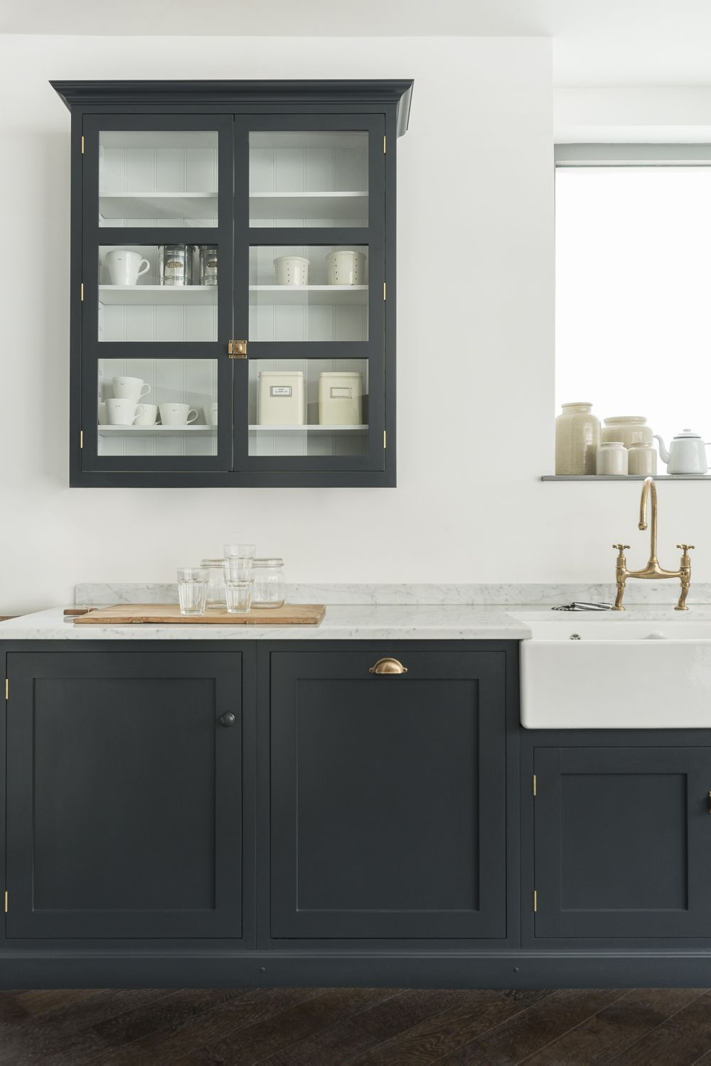 Devol S Bespoke Cabinet For Tall Period Kitchens From Wall Kitchen Cabinets