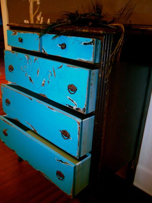 Bohemian Refinished Furniture Shabby Chic French