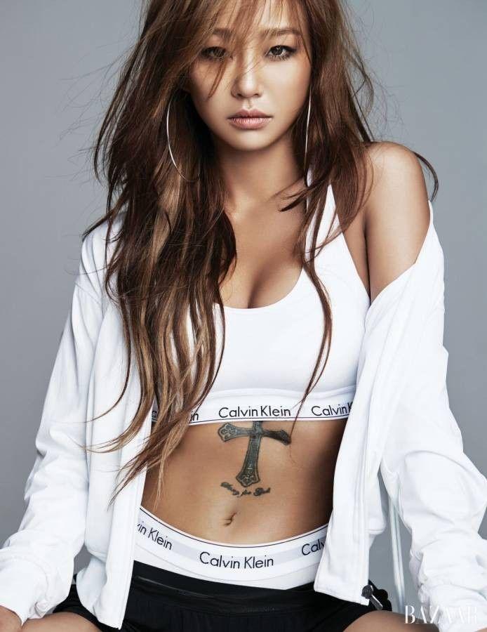 Hyolyn Bazaar Magazine June Sistar Sistar Kpop Women