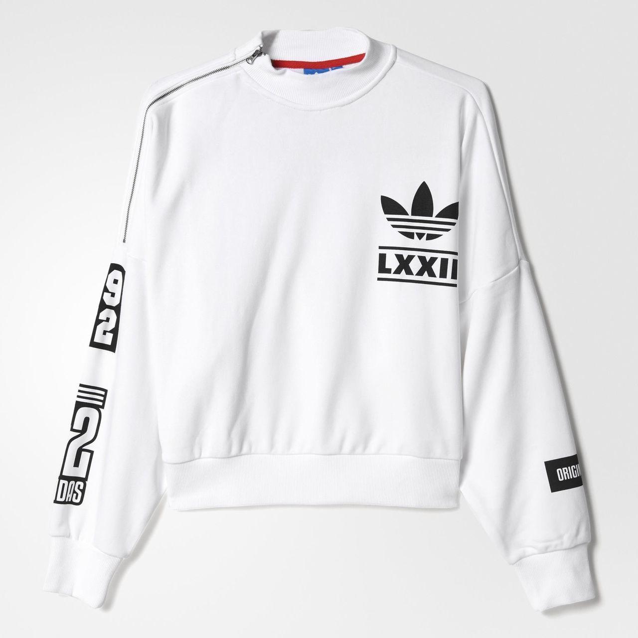 sweatshirt schwarz weiß berlin adidas