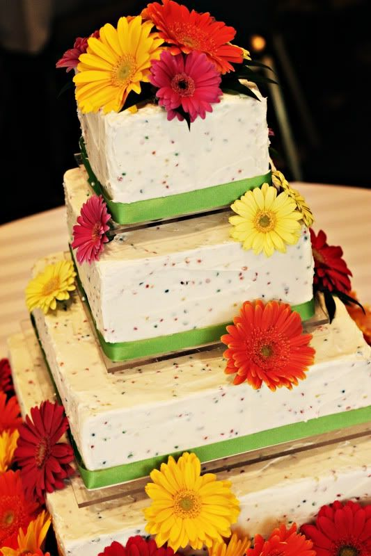 Yes, I want my wedding to cake to have rainbow chip icing! the three ...