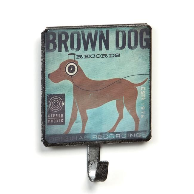 Dogs Rock Brown Dog Leash Holder - NuMercy.com