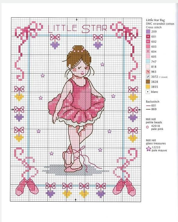 Little star dancer | Kıyafet seçenekleri | Pinterest | Handstickerei ...