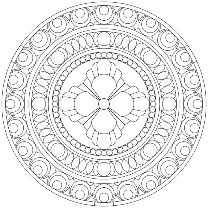 Mandala Ausmalbild Nr 39 Mandala Coloring Pages Mandala Coloring Coloring Pages