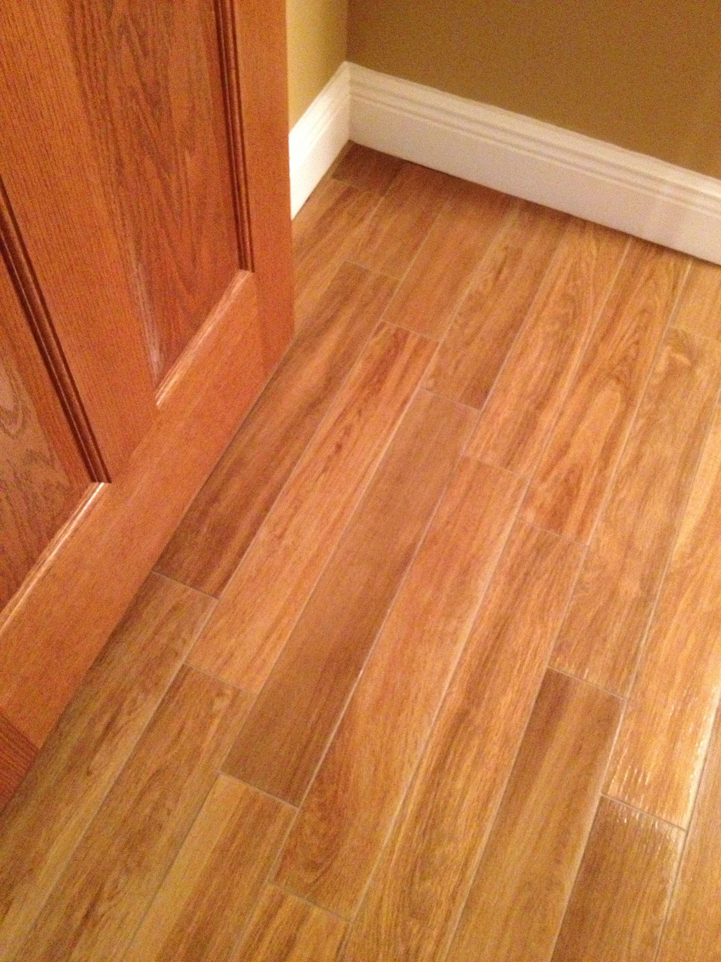 """4x24 BluStyle """"Danae"""" Arborea porcelain plank tile"""