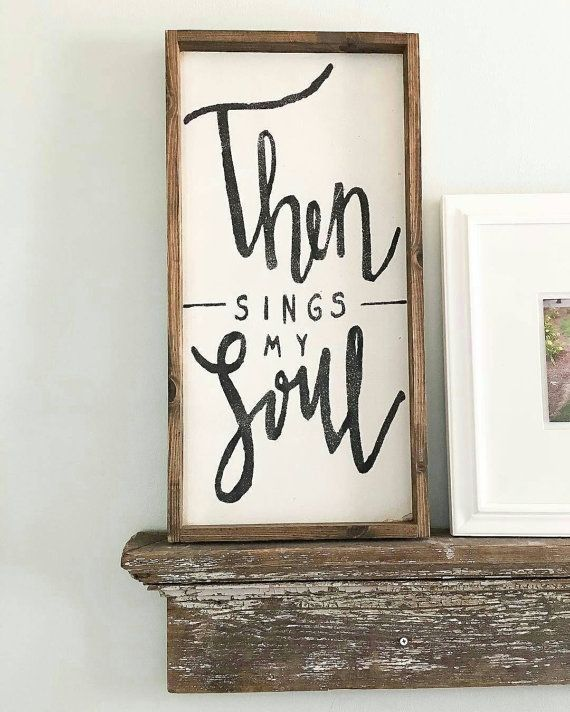 Rustic Wall Decor Wooden Signs With Frames Farmhouse Wall