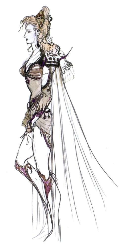Yoshitaka Amano Rosa Joanna Farrell Final Fantasy Iv Final Fantasy Final Fantasy Iv Fantasy