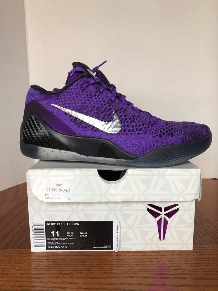 e200df073f1a Nike Air Kobe Bryant IX 9 Elite Low Moonwalker Michael Jackson 11 VNDS  Flyknit  fashion  clothing  shoes  accessories  mensshoes  athleticshoes  (ebay link)