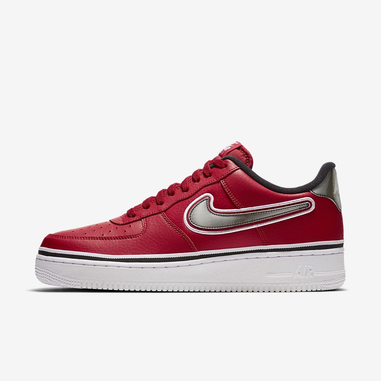 5bd92e5fb21 Nike Air Force 1 NBA Low (Chicago Bulls) Men s Shoe