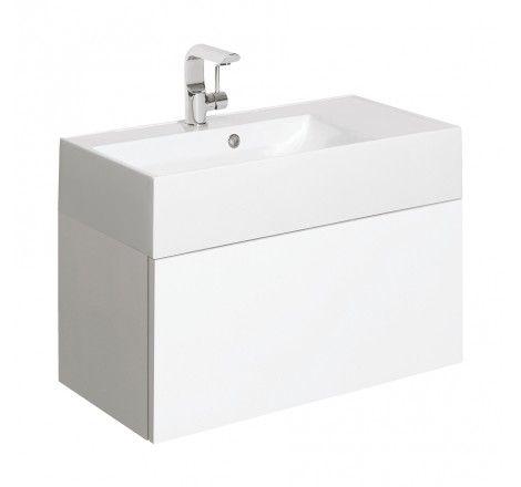 Bauhaus Elite 70 Vanity Unit & Basin EL7000DPG+ EL0002SRW