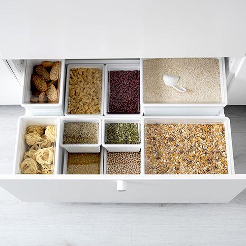 meilleur site web fc914 98893 Boîte de conservation | Rénovation maison | Ikea kitchen ...