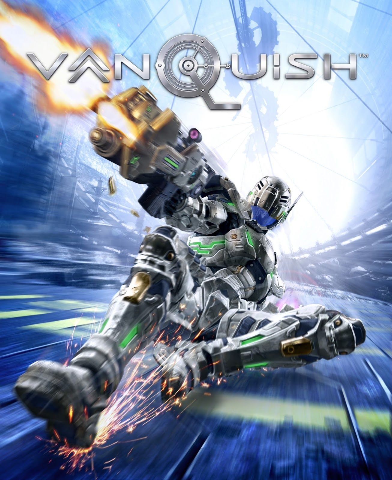 New Games VANQUISH (PC, PS3, Xbox 360) Video game