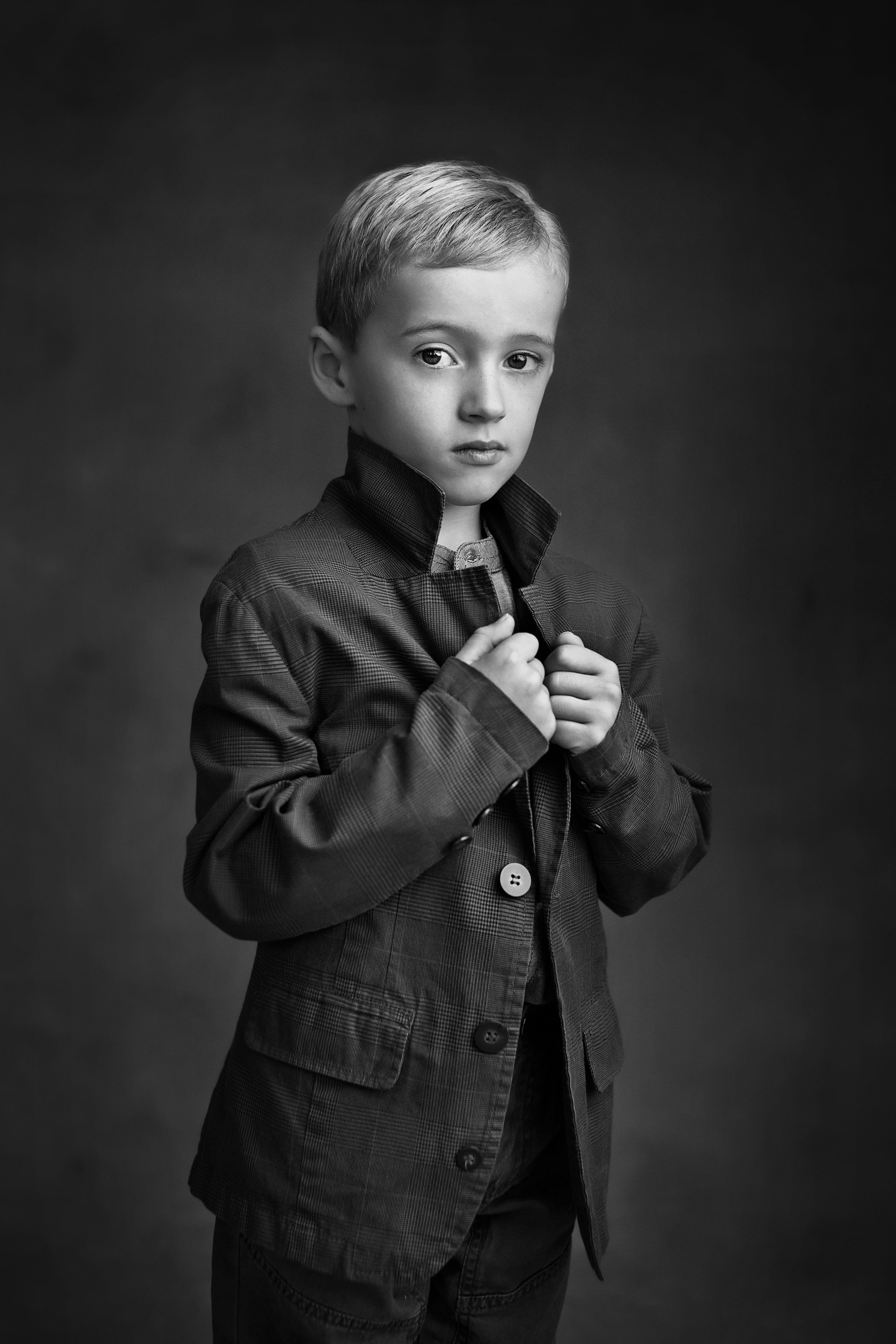 Awesome photo bandwportraitphotographyart kids