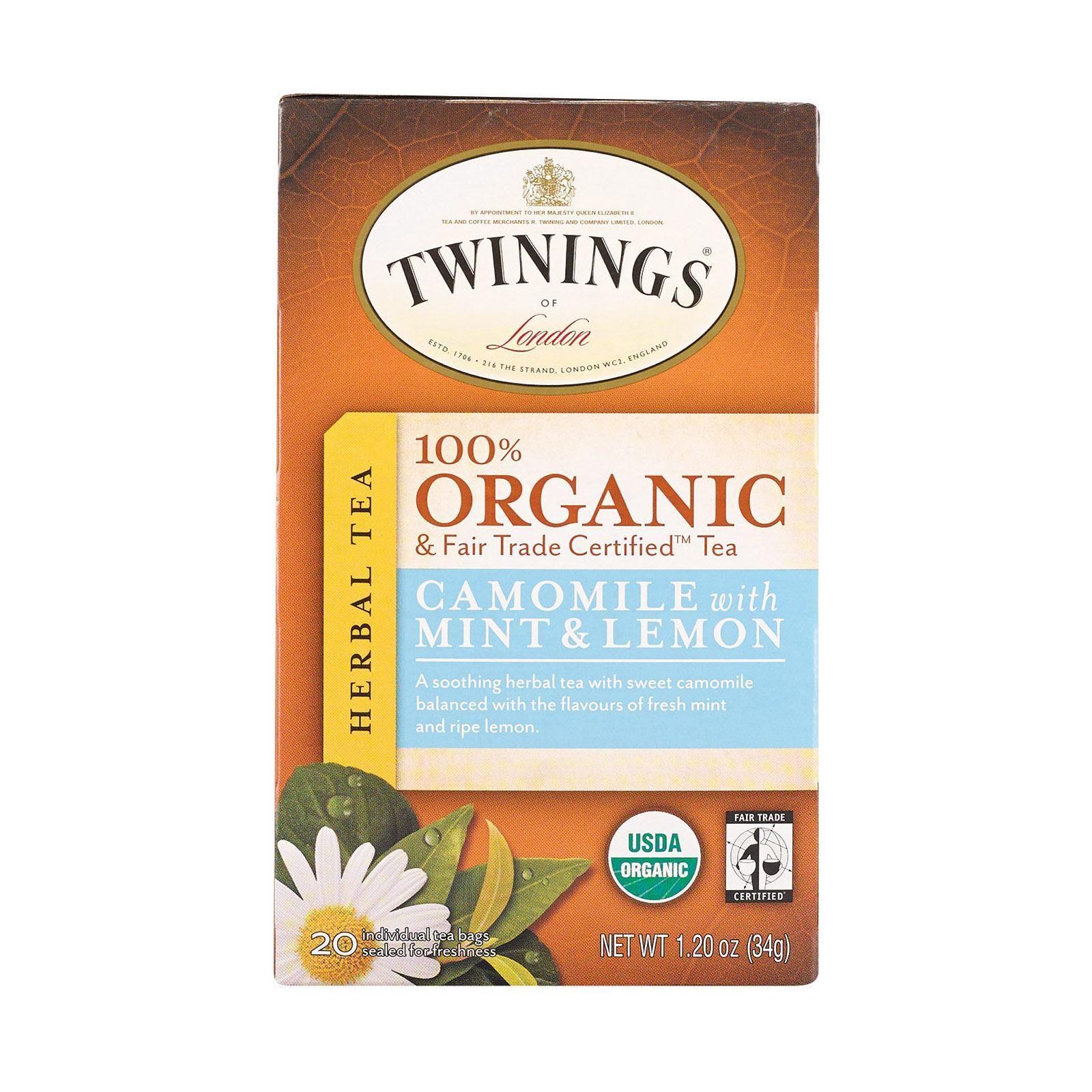 20bags Chamomile /& Spearmint Tea