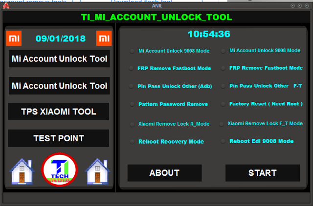 Ti Mi Account Unlock Tool Accounting Unlock Tools