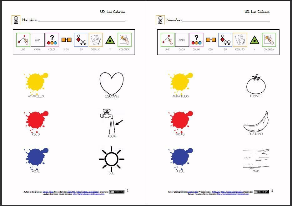 Materiales Los Colores Actividades Para Reconocer Los Colores