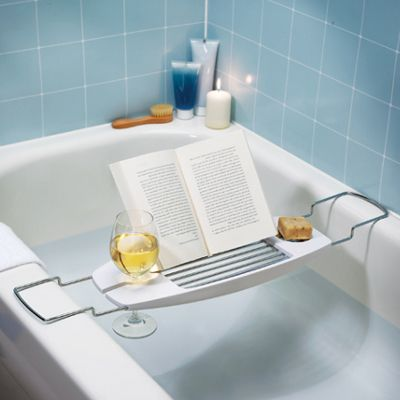 Bathtub Caddy With Reading Rack | Home Life Products | Pinterest ...