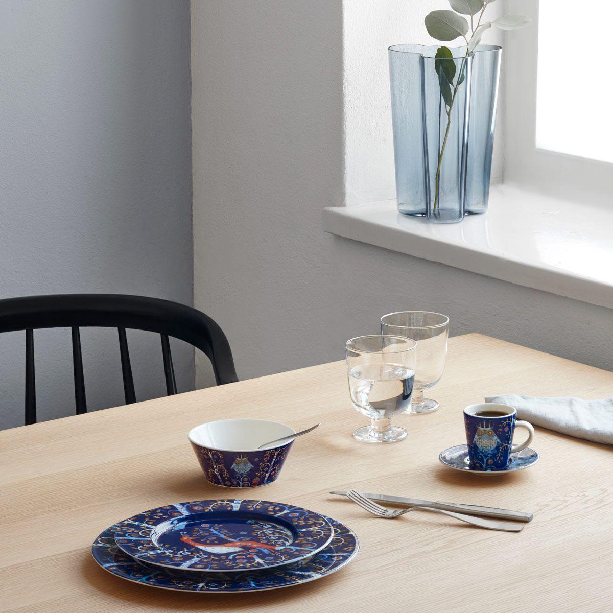 iittala Taika Blue Dinnerware Starter Set & iittala Taika Blue Dinnerware Starter Set | Iittala and Dinnerware