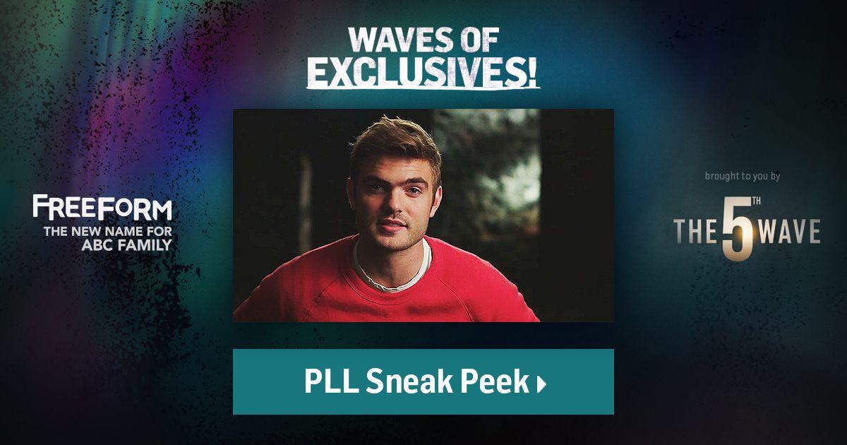 Nós do Litera - Cine - Club acabamos de assistir ao 1° Sneak Peak de Pretty Little Liars .. Confira no Site em freeform