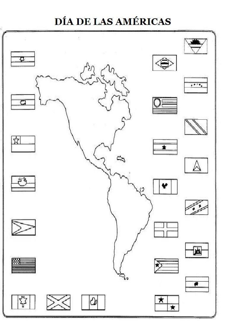 Recursos Para El Aula Sobre El Dia De Las Americas Para Pintar Con Ninos Nocturnar Felt Quiet Books Quiet Book Flag