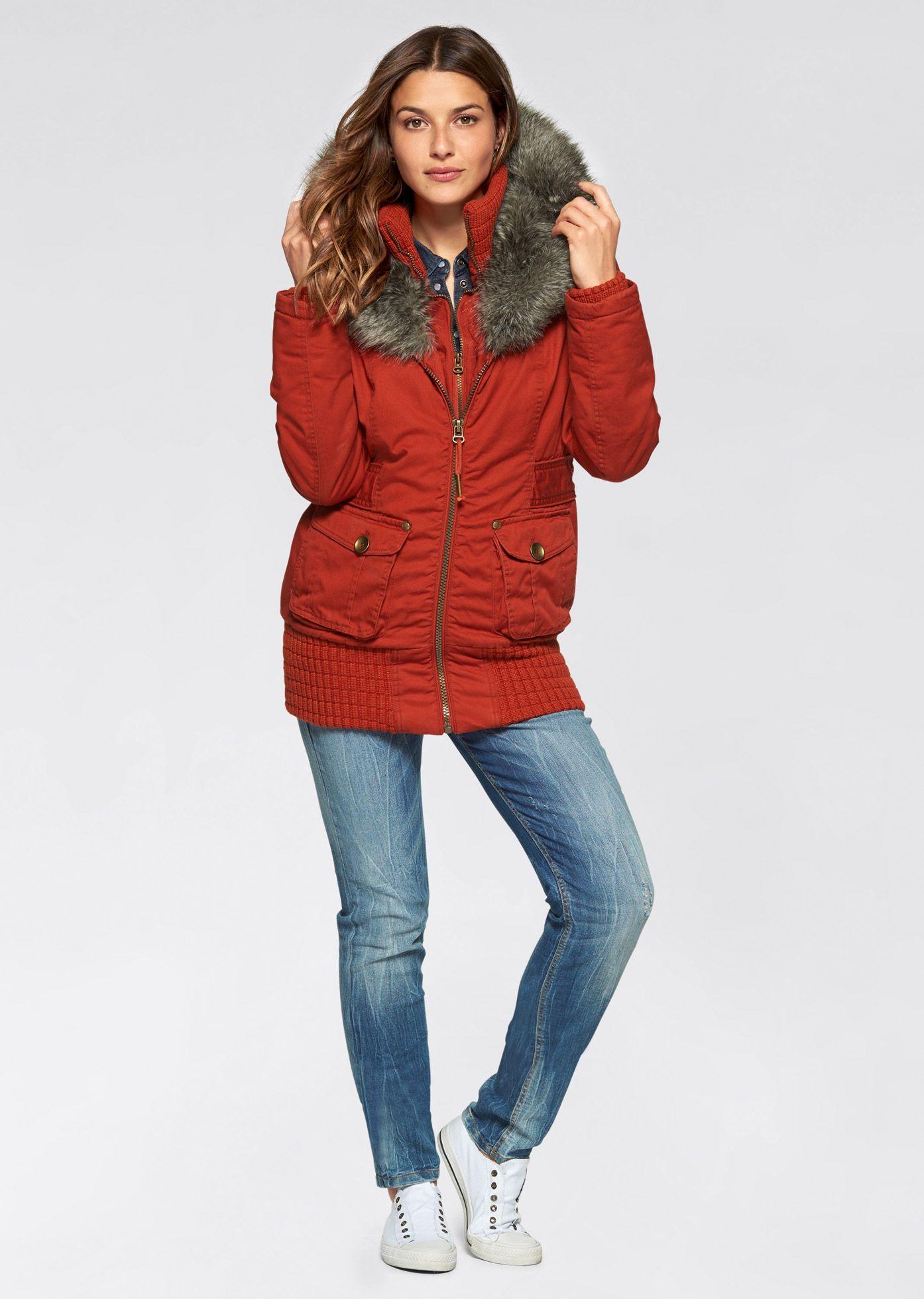 Veste caban imitation drap de laine   Style   Veste hiver