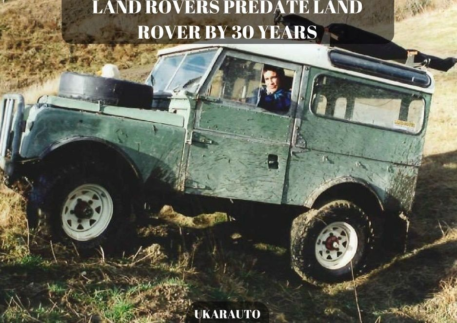 The Original Series I Land Rover Was Introduced In April 1948