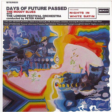 The Moody Blues Days Of Future Passed Vinyl Lp Days Of Future Passed Rock Album Covers Nights In White Satin