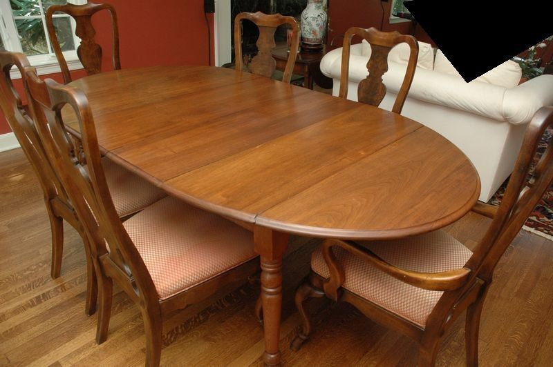 Mid Century Drexel Dining Table And Chairs6 Chairsmeasures 80 Alluring Drexel Dining Room Furniture Decorating Inspiration