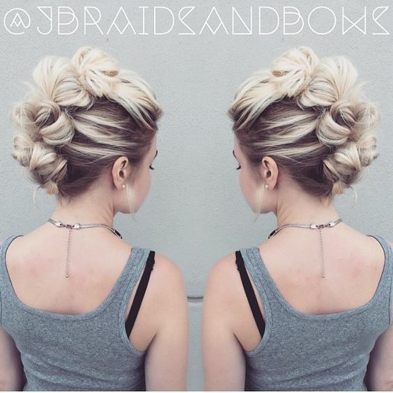 Knotted Updo Up Doformal Hair Styles Pinterest Updo Hair