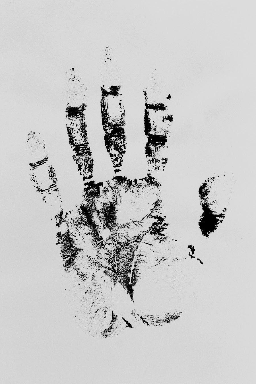 Handprinting Handprint Draw Art Drawingart
