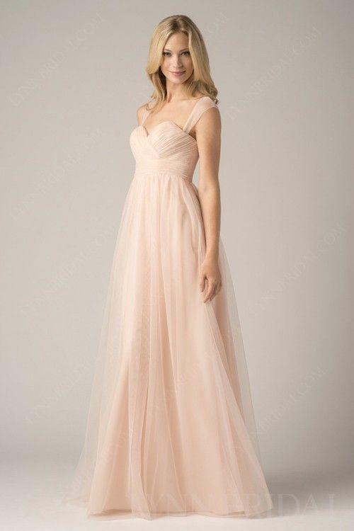 A Line Sweetheart Tulle Maternity Bridesmaid Dress | mode ...