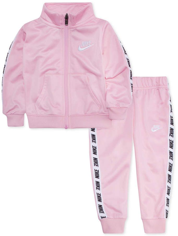 2a500fb239d Nike Baby Girls 2-Pc. Track Jacket   Jogger Pants Set ...