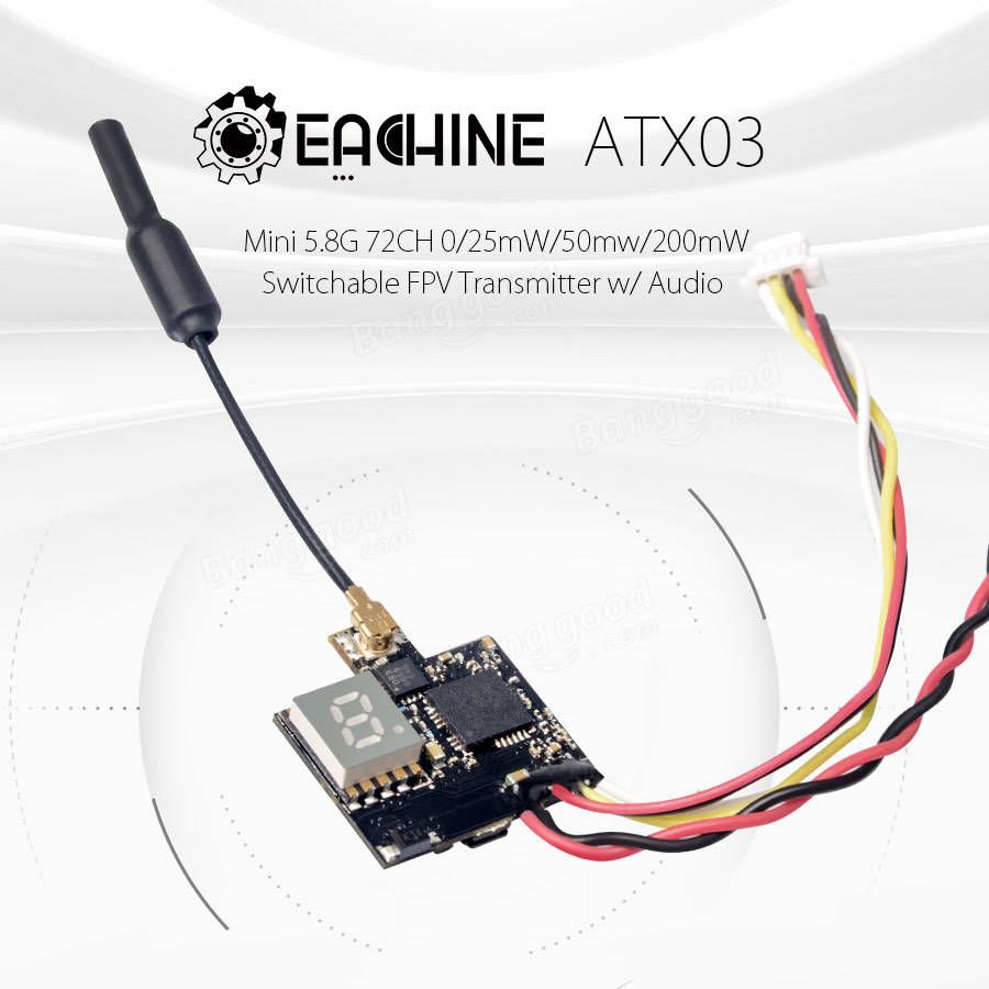 Eachine ATX03 Mini 5.8G 72СН 0/25 мВт / 50 мВт / 200 мВт